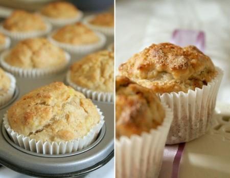 Muffin integrali alle banane