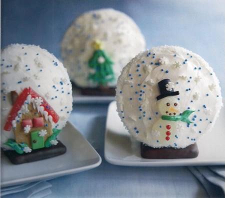 muffin palline albero natale
