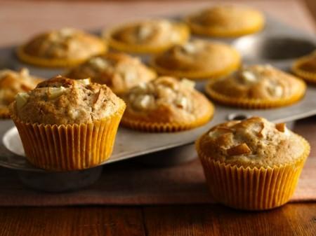 muffin pere zenzero