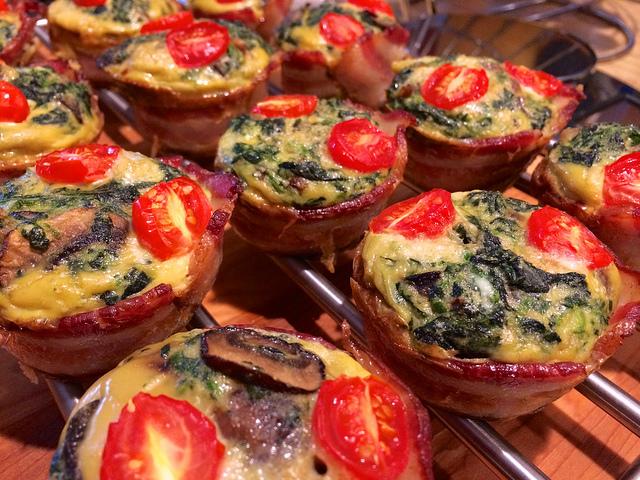 muffin salati ai pomodorini