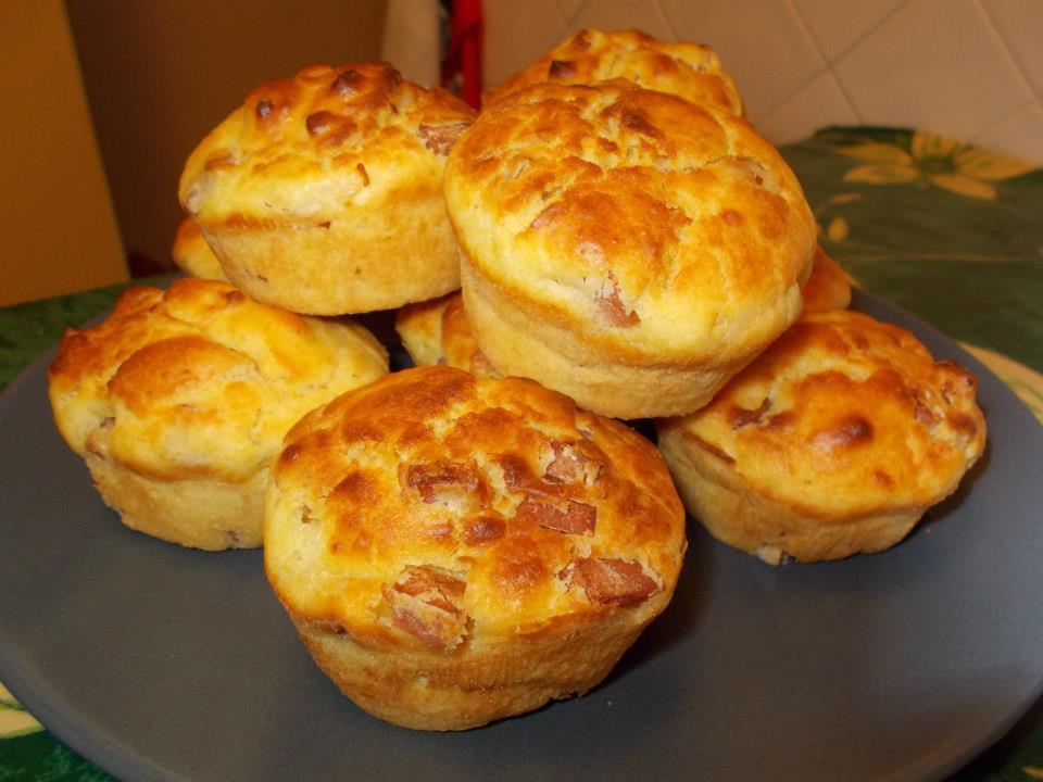 muffin salati allo zenzero