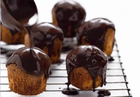 muffin al caffe e cioccolato