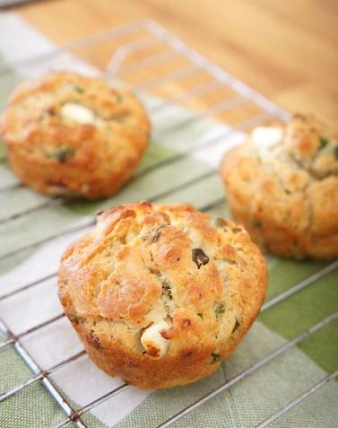 muffins piselli prosciutto