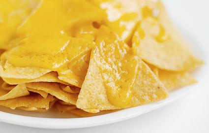nachos salsa al formaggio