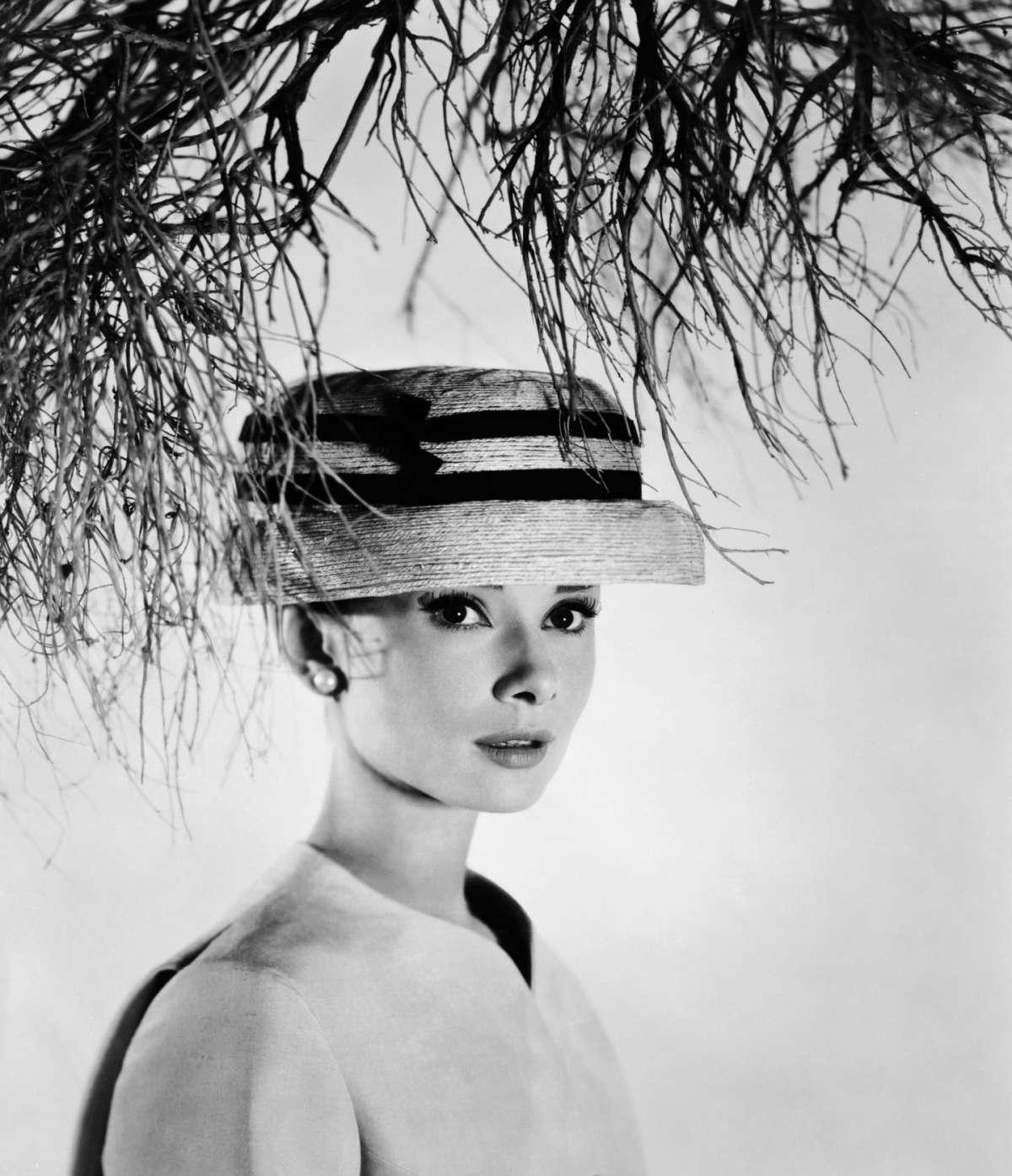 Cappellino chic per Audrey