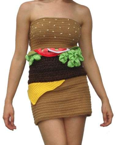 hambuerger dress
