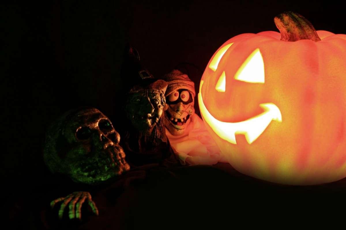La zucca di Halloween e i suoi amici