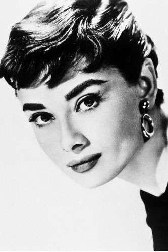 Primo piano della Hepburn