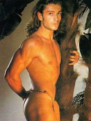Rossano Rubicondi nudo