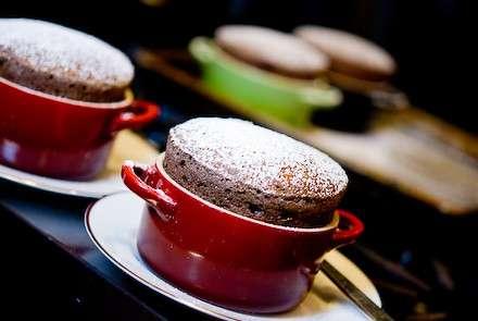 ricetta chocolate souffle