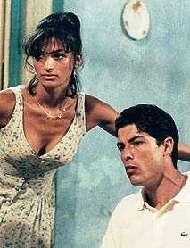 L'attrice con Alessandro Gassman