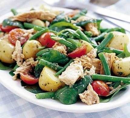 insalata tonno e fagiolini