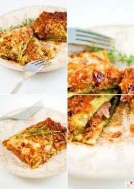 Lasagne con gli spinaci