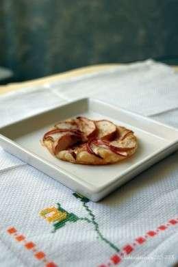 sfogliatina tonda alle mele