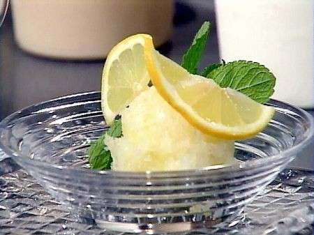 Sorbetto al limone ricetta