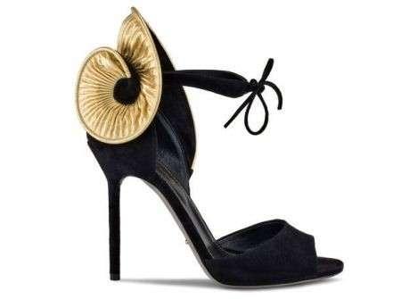 Sergio Rossi scarpe 2012 nero oro