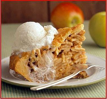 Apple Pie con gelato