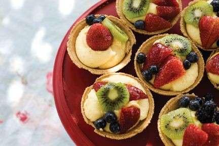 Crostatine alla frutta per buffet