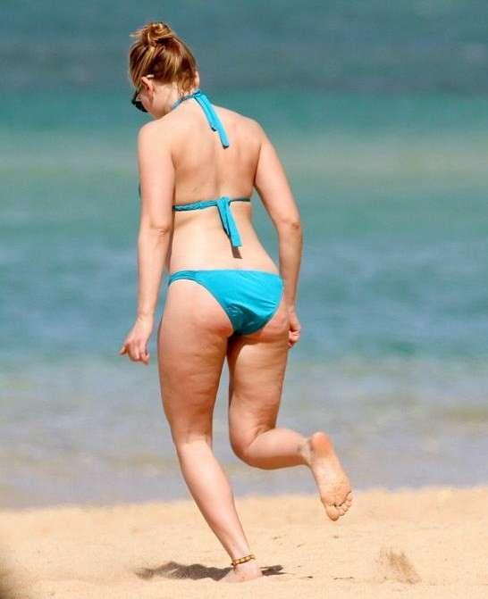 Cellulite vip, Scarlett Johansson