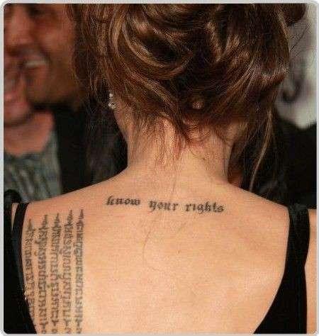 Le frasi per tatuaggi con un significato importante