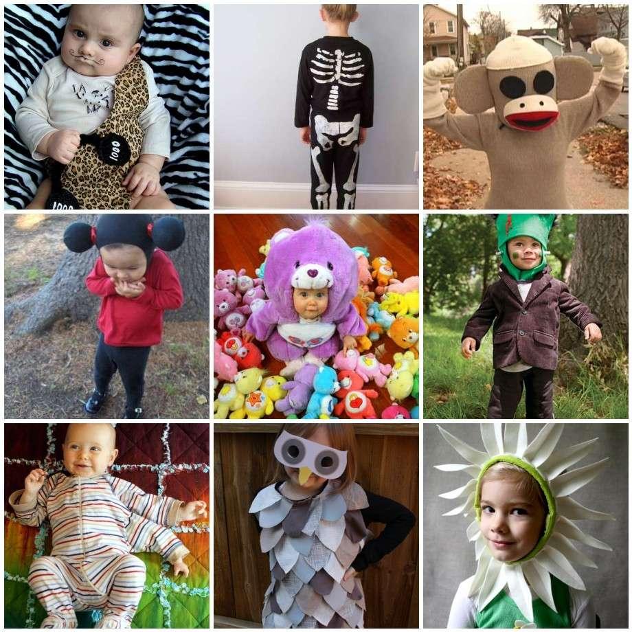 Costumi Halloween bambini fai da te
