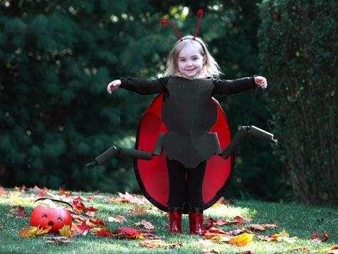 Costumi Halloween fai da te coccinella