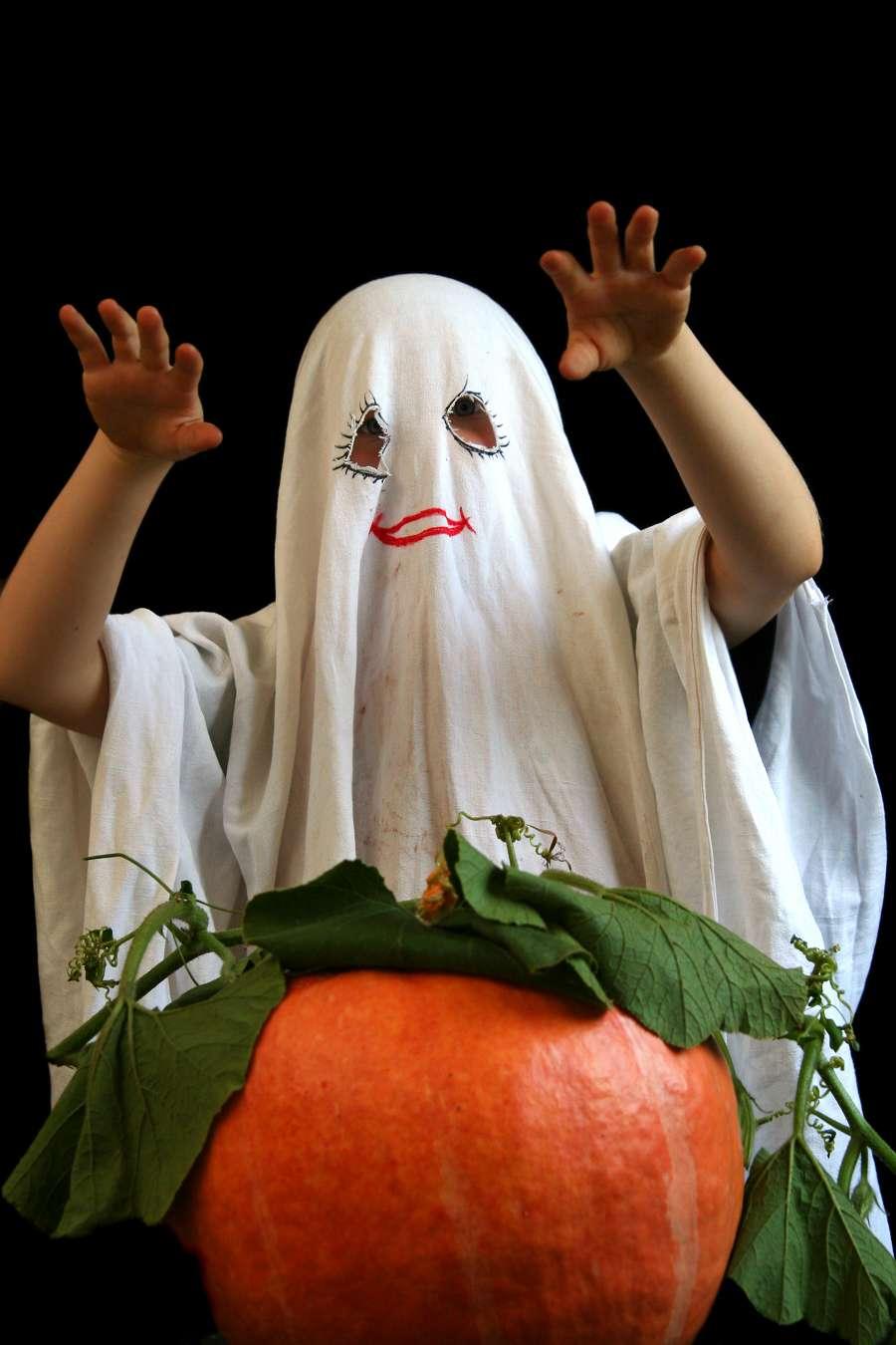 Costumi Halloween fai da te fantasma