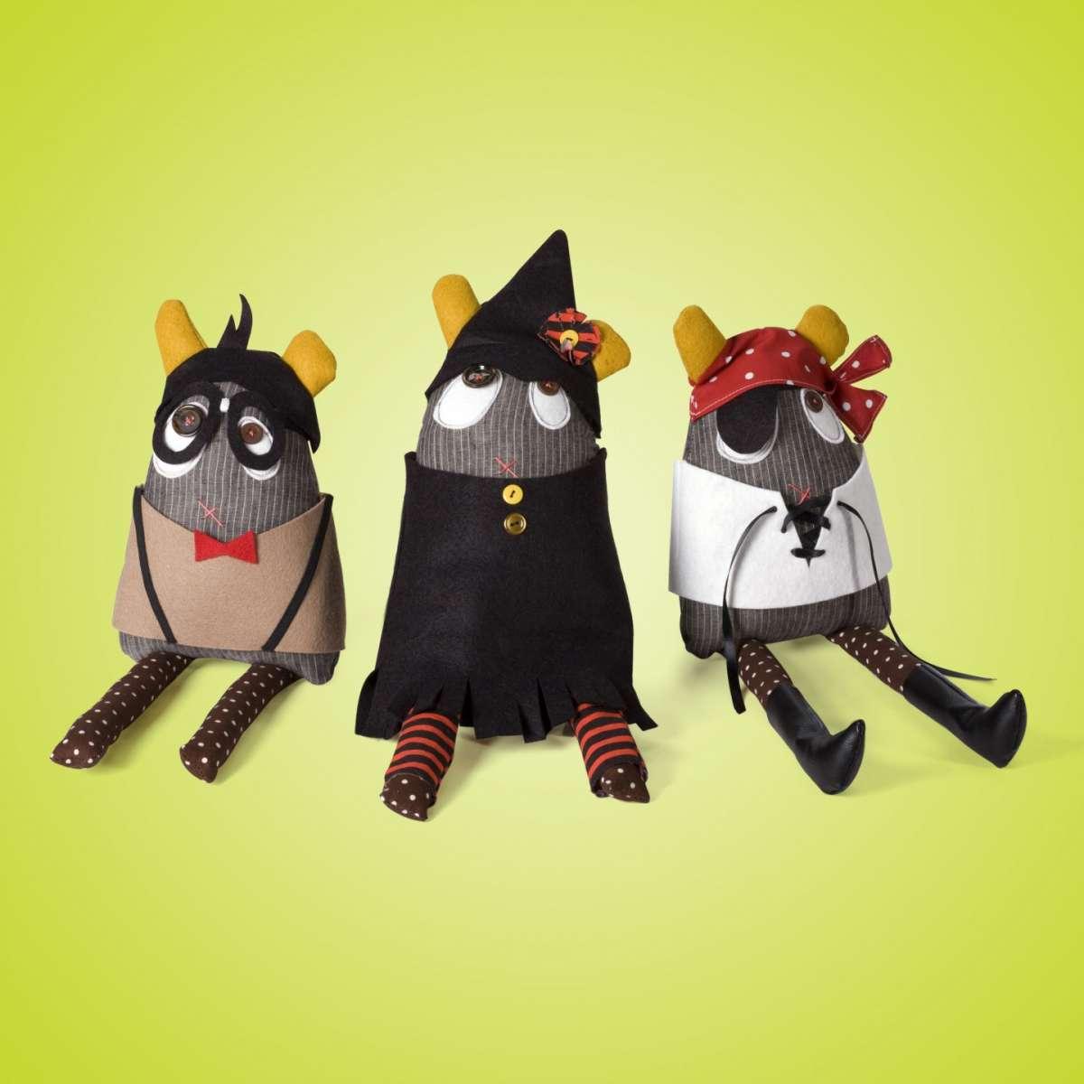 Lavoretti Halloween per bambini animaletti