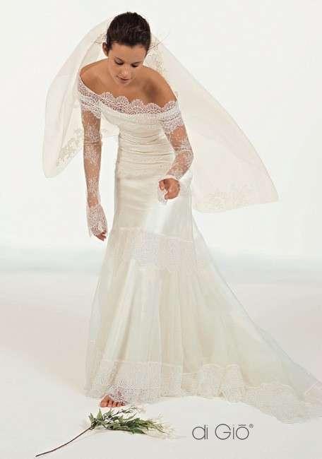 Le Spose di Giò collezione classica abito bianco pizzo