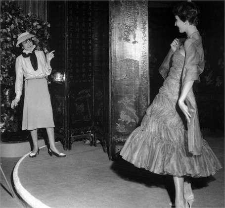 Moda anni '50, abito Coco Chanel