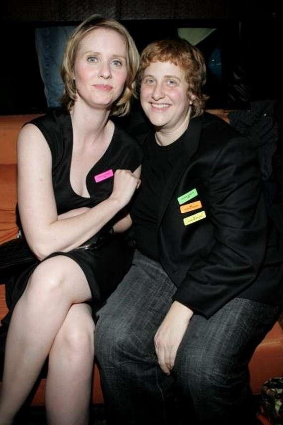 Coppie lesbiche: Cynthia Nixon e Christine Marinoni