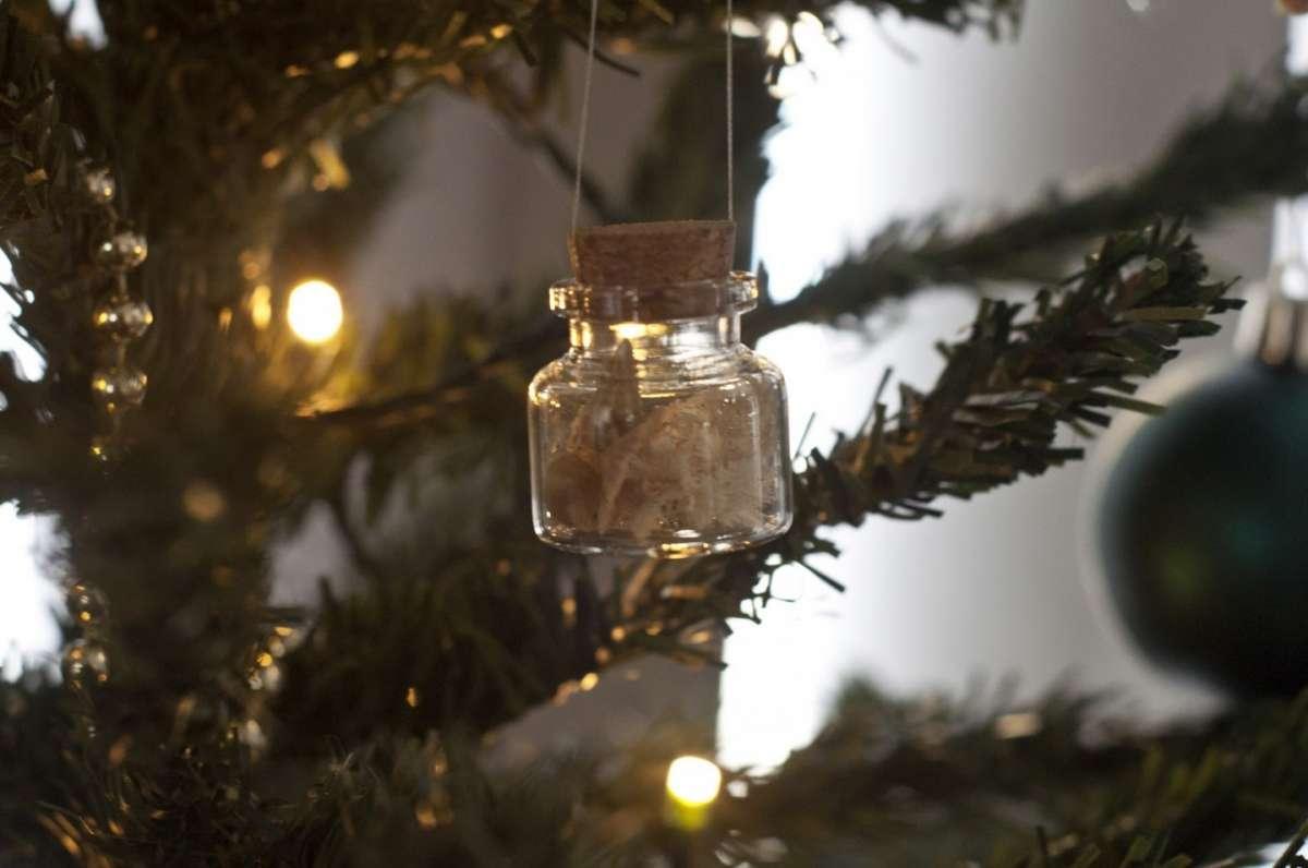 Decorazioni natalizie boccette