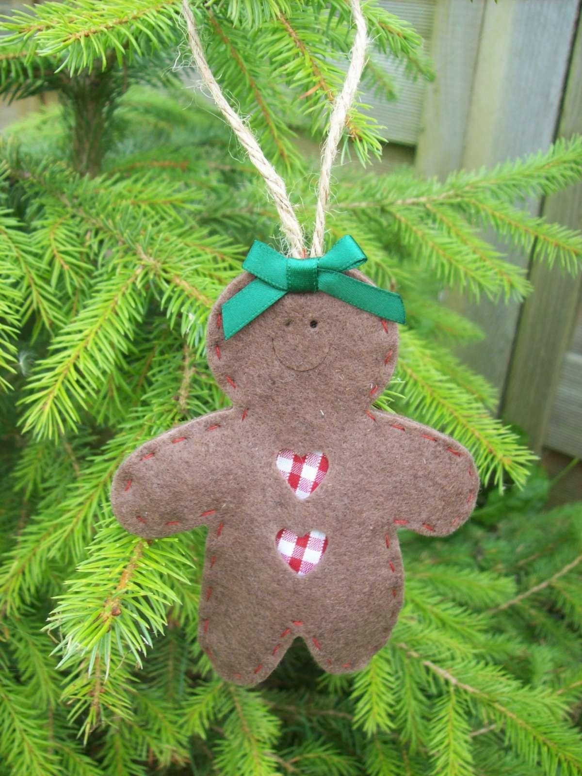 Lavoretti creativi Natale omino feltro