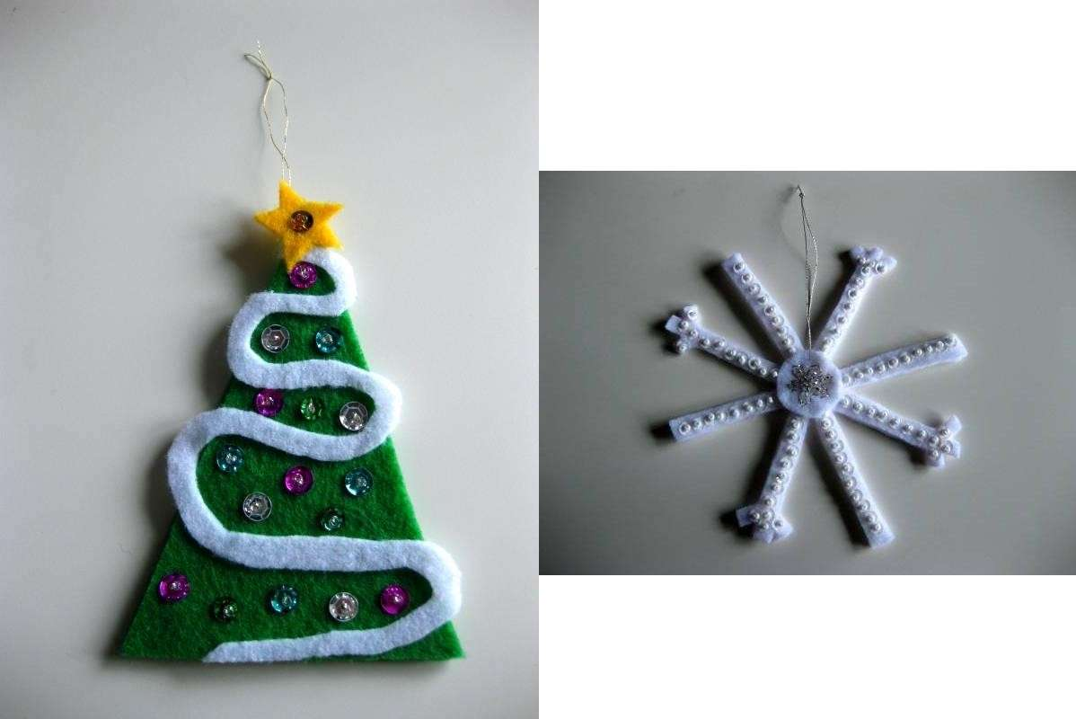 Lavoretto Natale per la scuola primaria: albero