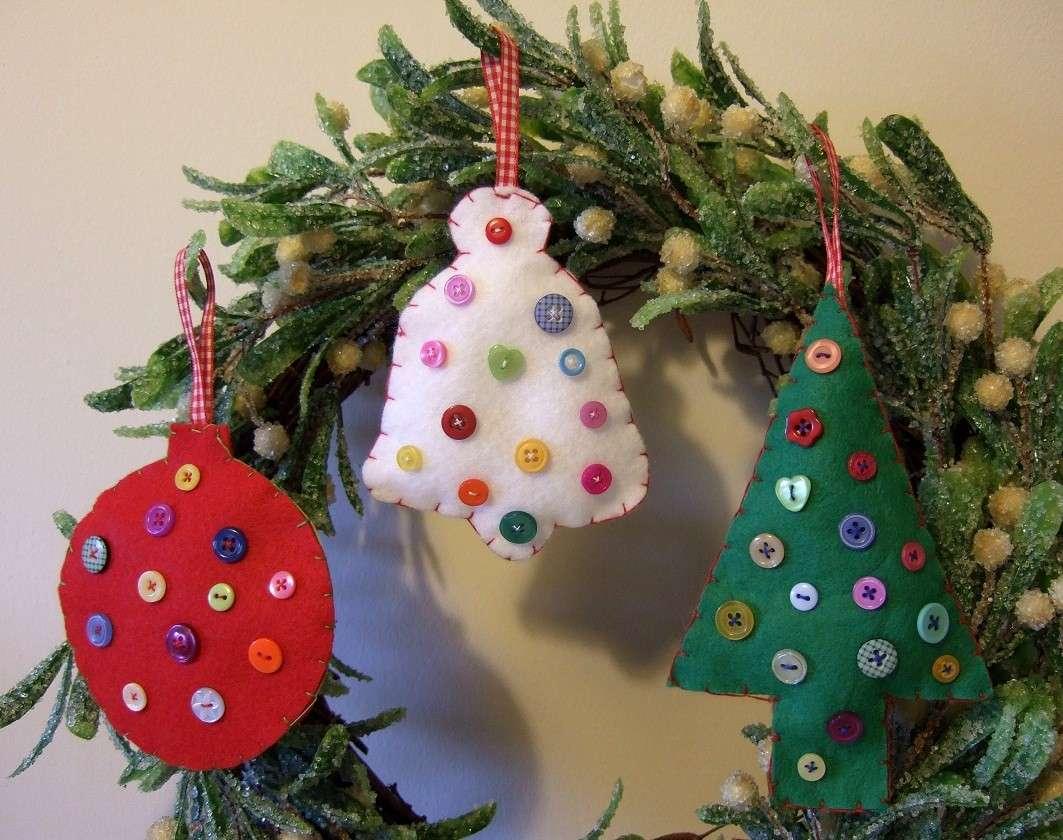Lavoretto Natale per la scuola primaria: feltro