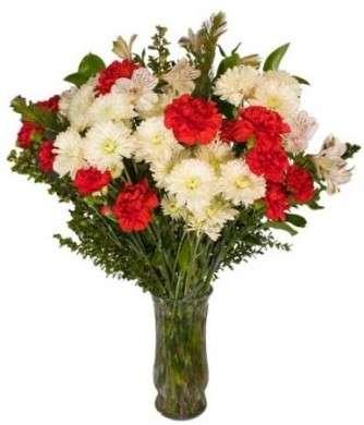 Bouquet sposa Natale in fascio