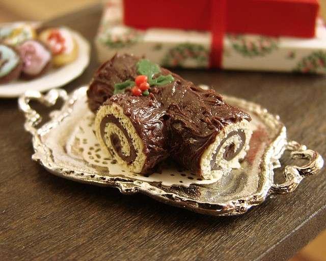 Tronchetto di cioccolato 1