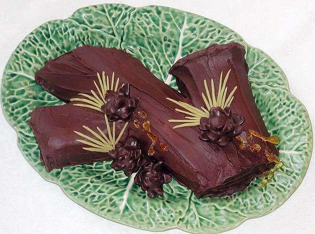 Tronchetto di cioccolato 3