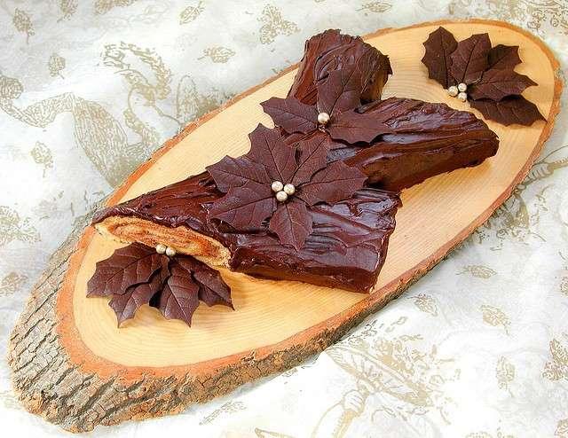 Tronchetto di cioccolato 4