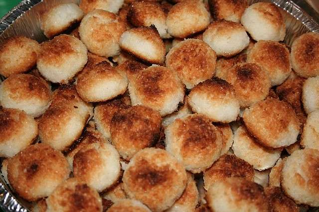 Biscotti al cocco ben cotti