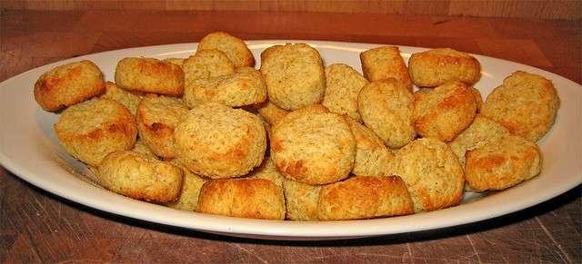 Biscotti al cocco con farina integrale