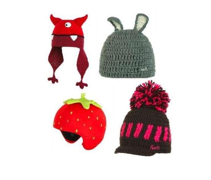 Cappelli di lana spiritosi