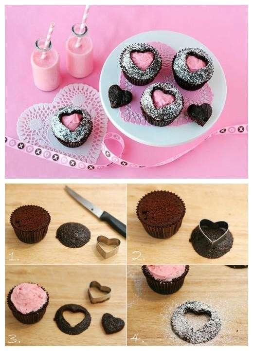 Come realizzare i muffin a San Valentino
