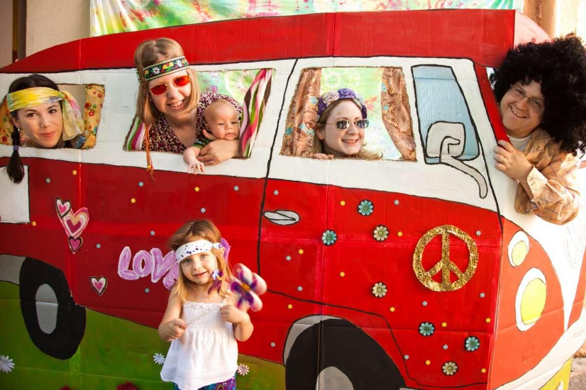 Festa in tema hippie