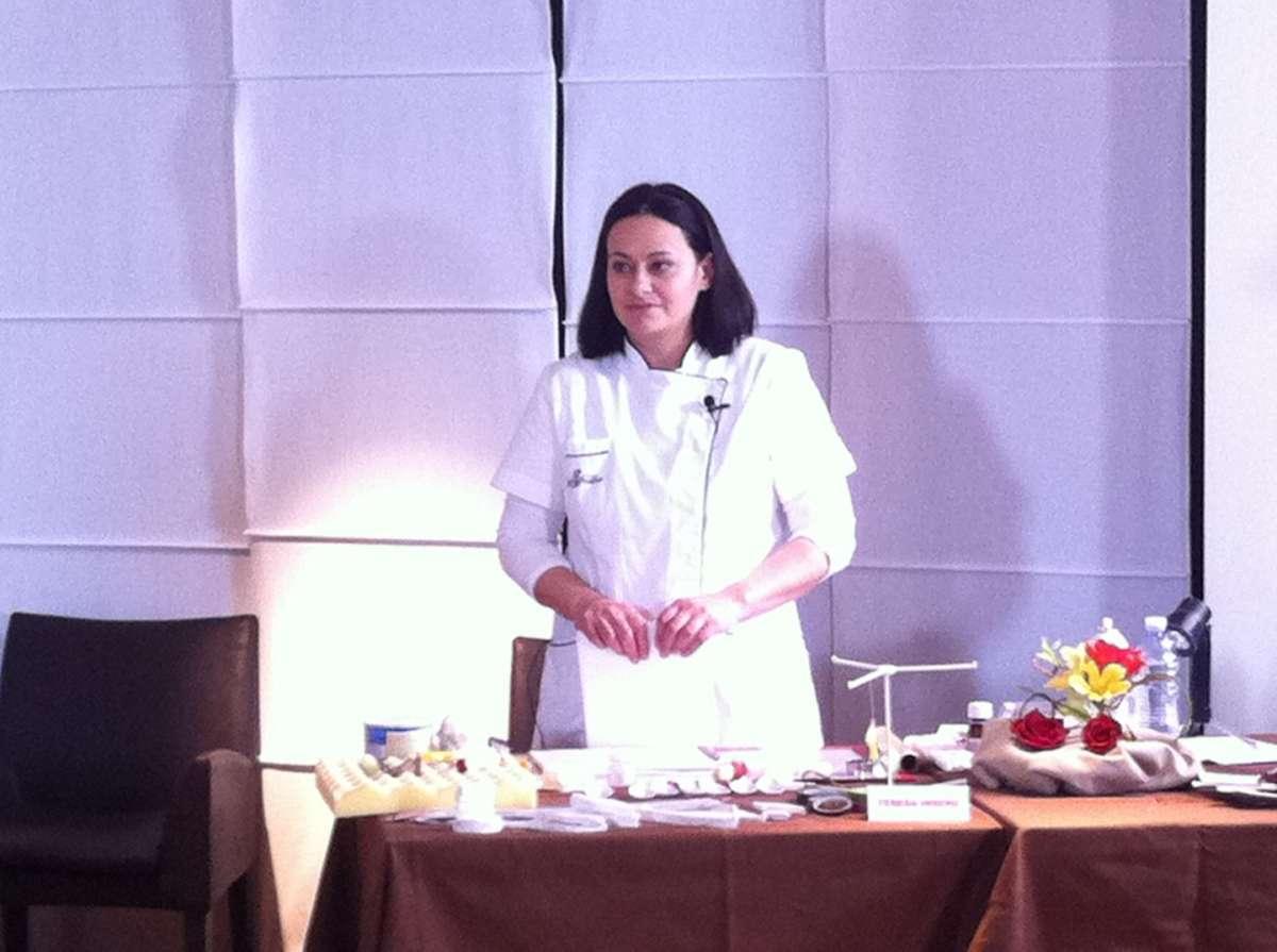 La cake designer Teresa Insero