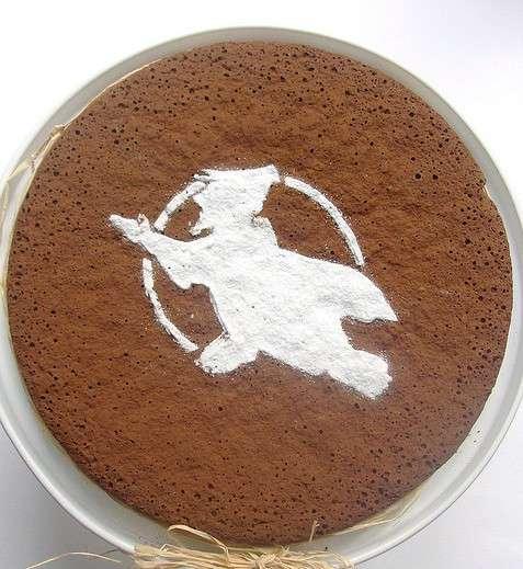 Torta della Befana al cioccolato con frutta secca