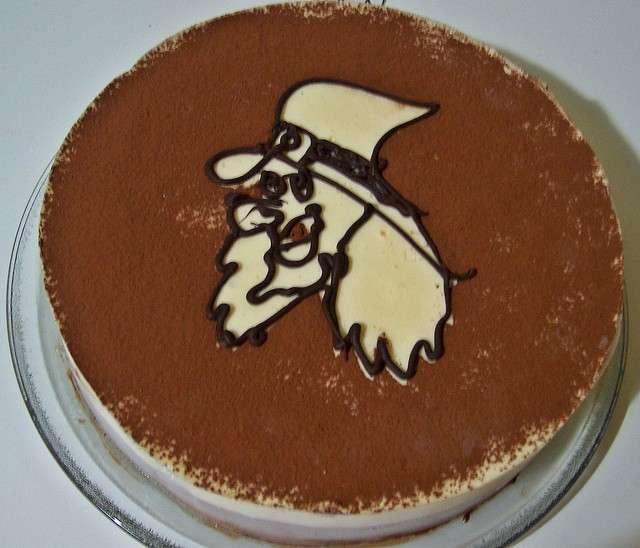 Torta della Befana con cacao