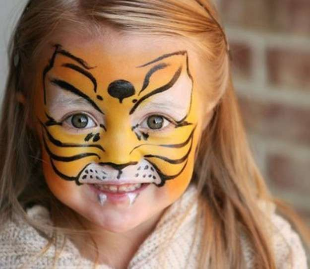 Travestimento di Carnevale da tigre