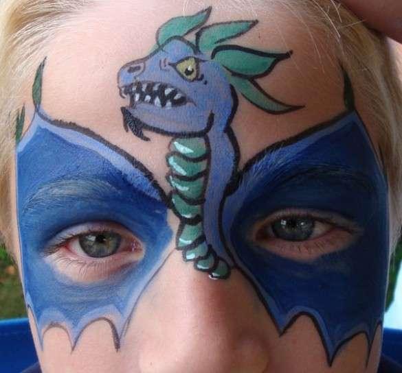 Trucco da dragone