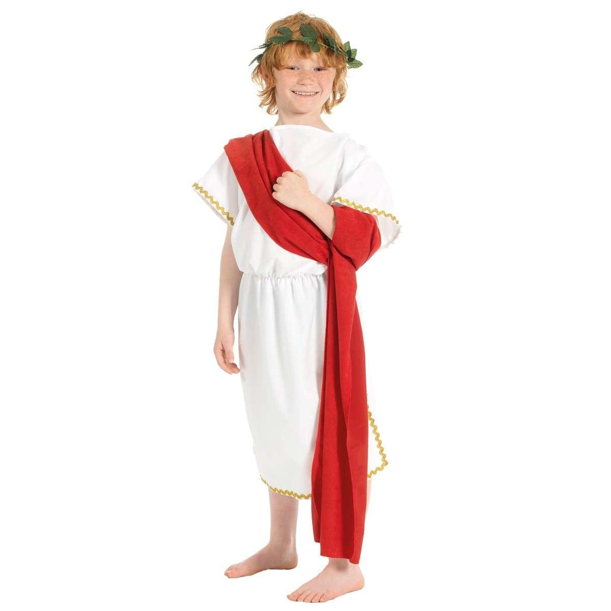 Vestito da antico romano